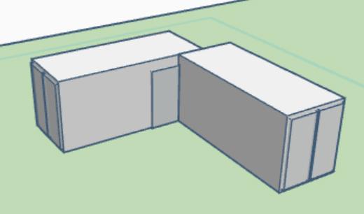 Plano con contenedor 202L