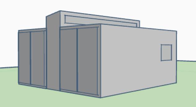 plano contenedor Modulo 202Ps 3D