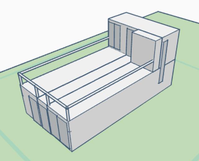 Plano Modulo 402-201A 3D