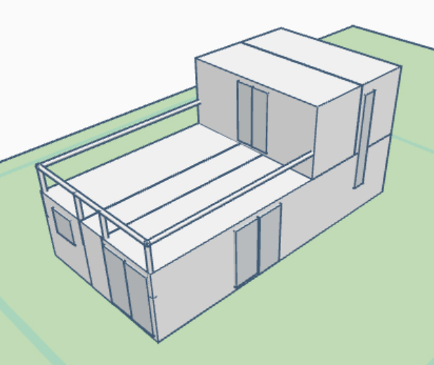 Plano Modulo 402-202A 3D