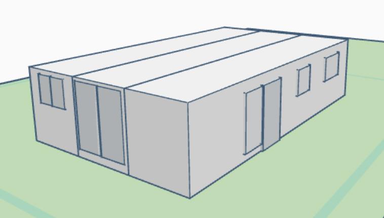 Plano 3 Modulos 403P 3D
