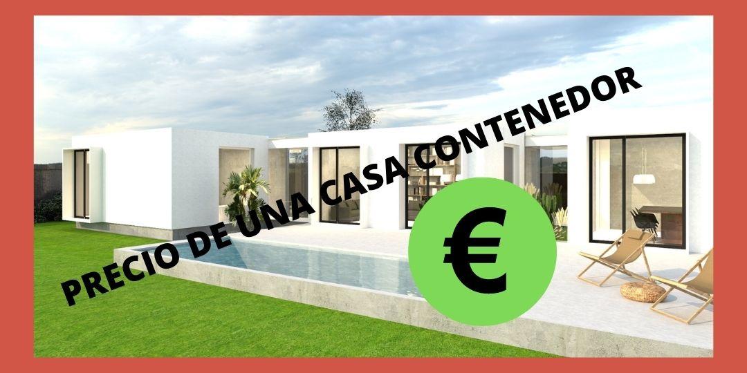 Precios casa con contenedores