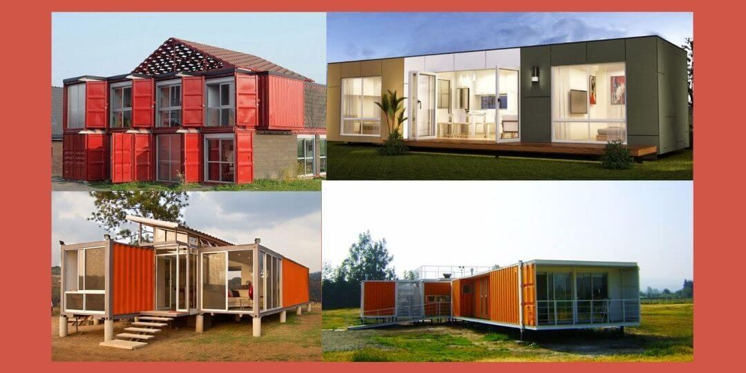 diseños de casas con contenedores